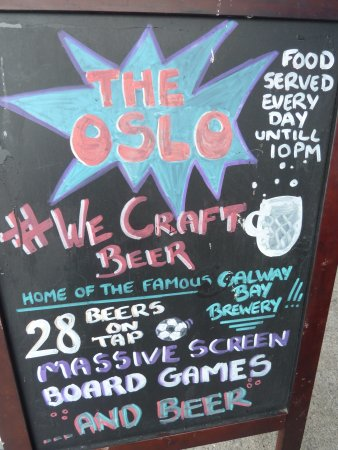 Oslo Bar and Microbrewery: Oslo Bar