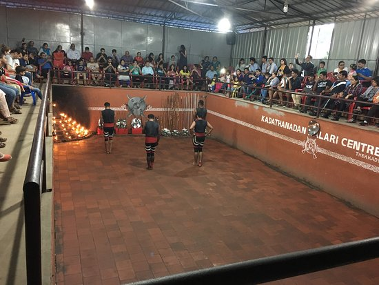 Kadathanadan Kalari  & Navarasa Kathakali: Kalari show performed by Kadathanadan group in Thekkady