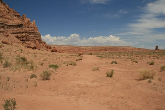 Goblin Valley State Park: trail