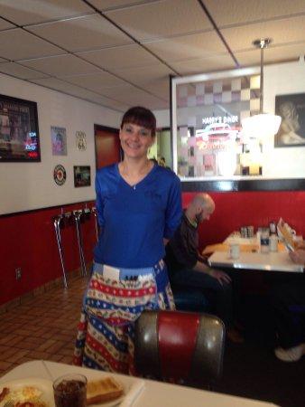 Sheboygan, Висконсин: Christine our waitress is great