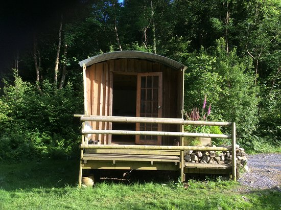 Holne, UK: The hut