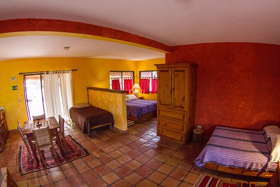 Baja Bungalows : Lower Level NEW House, + nice patio with hammock and dining area
