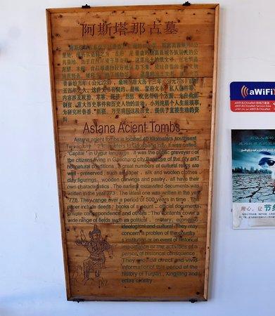 Turpan, China: Astana-Karakhoja Tombs
