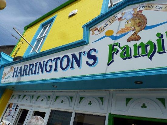 Outside Harrington's