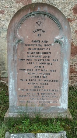 East Church Cromarty Grave Stone