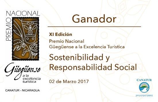 San Ramon, Νικαράγουα: RECONOCIMIENTOS