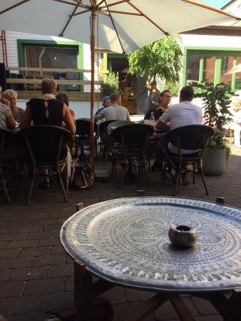 Rönneby, Sverige: Innegården
