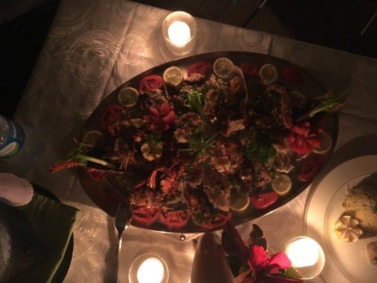 Hibiscus Beach Resort & Spa : Awasome dinner!!!