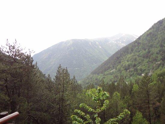 Ordino, Andorra: Вид с площадки