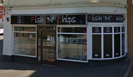 Rushden, UK: The Red Cafe Fish N Chips