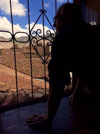 Amaru Hostal: room with a view