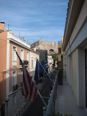 AVA Hotel Athens: Executive suite view