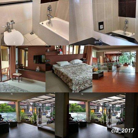 Tawangmangu, Ινδονησία: April 2017..deluxe room..kamar bersih..lorong kurang terawat, playground kurang terawat lift tid