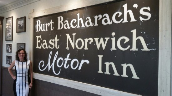 East Norwich Inn : Back in the day when Burt owned the place so he could see his ponies run at Belmont