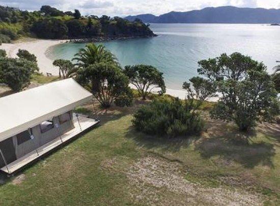 Coromandel Peninsula, Nowa Zelandia: Slipper Island Glamping