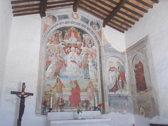 Asciano, Italy: Assunzione della Vergine