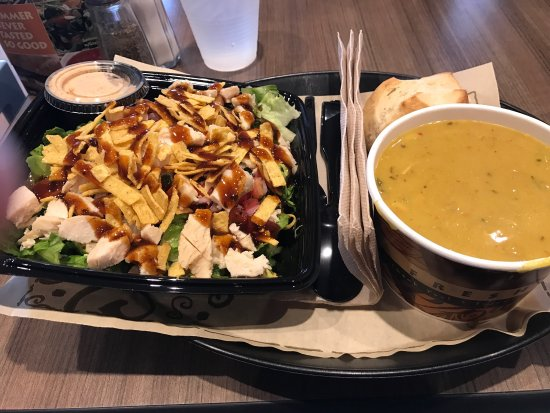 Norwood, OH: Loco burrito salad and Thai curry chicken soup