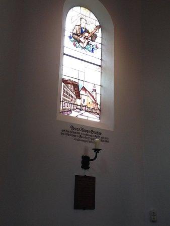 Oberndorf bei Salzburg, Austria: Stained Glass