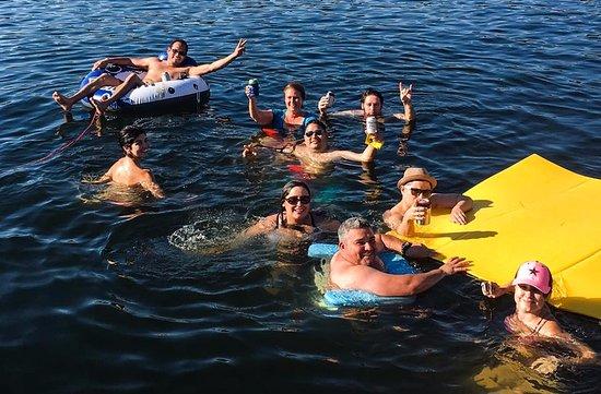 Leander, TX: Good times at Devil's Cove!!!