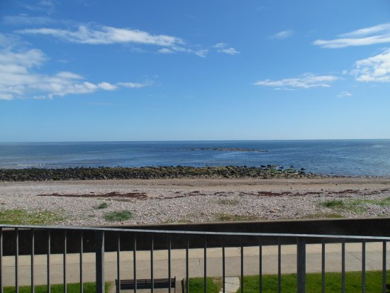 BayView Bed & Breakfast: Sea View from The Studio Balcony