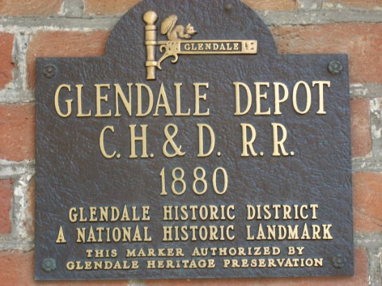Glendale, OH: Historical Marker