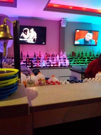 Xo Lounch bar sectie