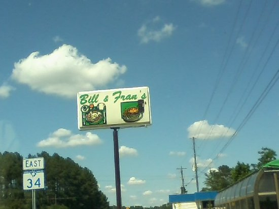 Newberry, SC: What a friendly sign!