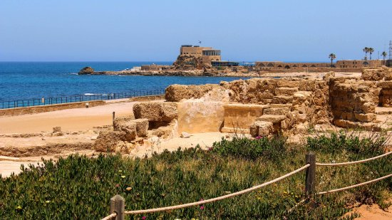 Caesarea Harbor National Park