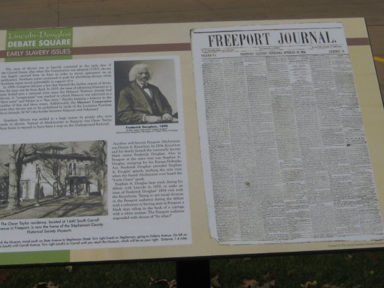 Freeport, IL: Early slavery rules