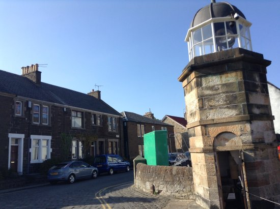 North Queensferry Harbour Light Tower: The Worlds Smallest Working Lighthouse