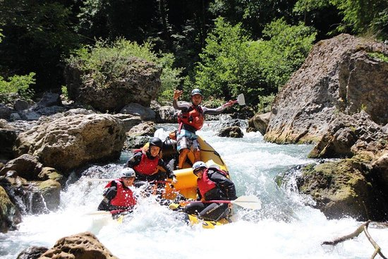 Laino Borgo, Italie : Stunning trip as you can see :-) Small group - only one raft this time