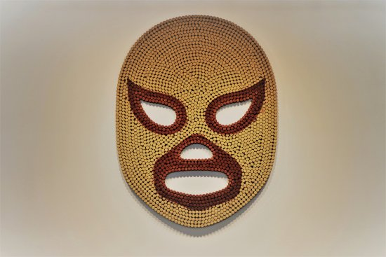 New Westminster, Canada: Our famous Luchador Mask!