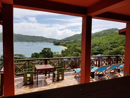Lower Bay, Bequia: View from breakfast