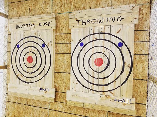 Houston Axe Throwing - Bellaire Location