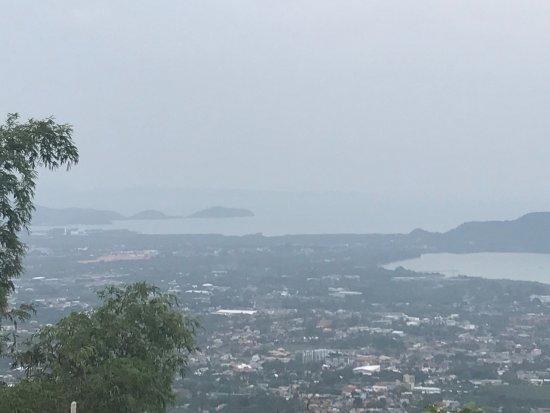 Chalong, Tailândia: Views from Big Buddha