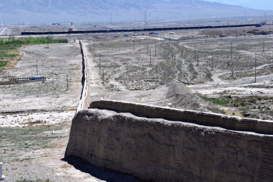 Jiayuguan Fortress - início da Grande Muralha da China