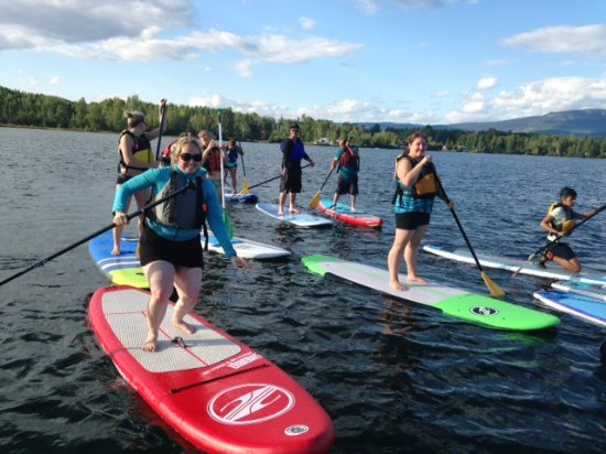 Smithers, Canada: Aquabatics offers on-site and off-site paddleboard, kayak and canoe rentals.