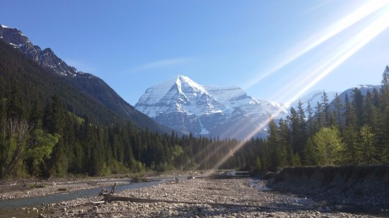 Canadian Rockies, Canada: 2 minute walk from Robson River Campground #15