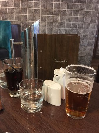 Lincolnshire, UK: The normal drinks