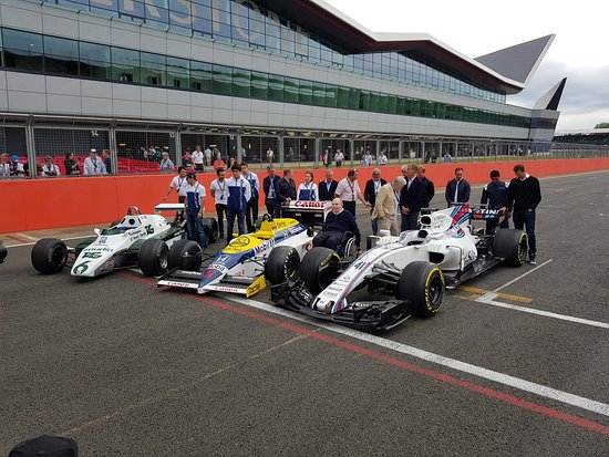 Silverstone, UK: 40 years of Williams Grand Prix