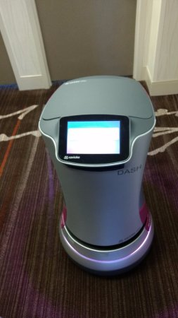 Milpitas, CA: The Dash, delivery robot