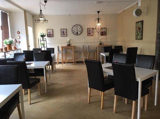 Filipstad, Sweden: Det finns tramsiga rum att sitta i.