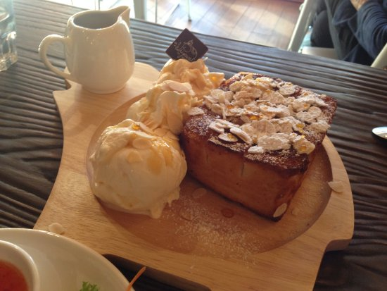 Victoria Park, Australia: Amazing Honey Toast