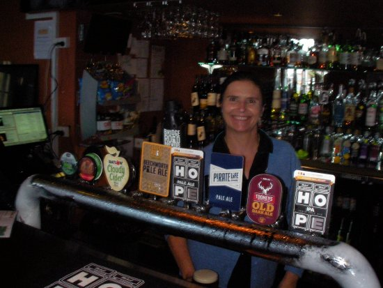 Tumut, Australia: Part of the range of drinks available