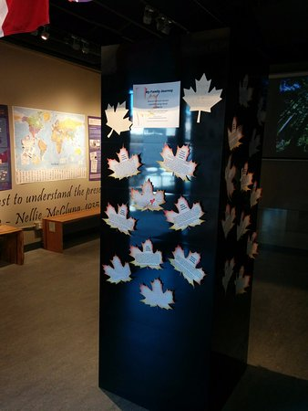 "Port Coquitlam, Canada: As part of our Canada 150 ""Journeys and Connections"" exhibit, come in and share your family jour"