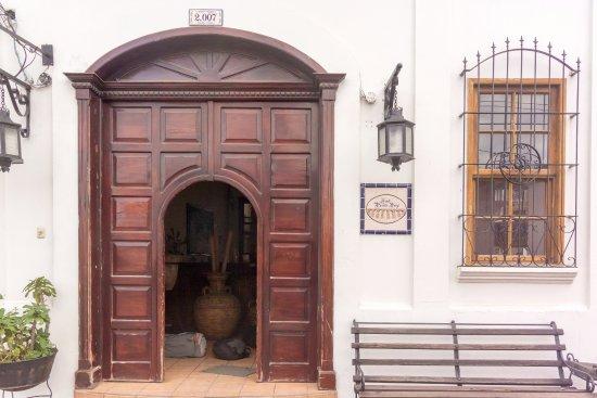 Jalapa, Guatemala: Just entrance to the hotel