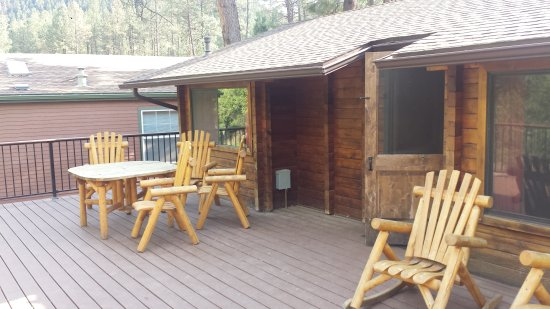 Kohl's Ranch Lodge: 20170613_164810_large.jpg