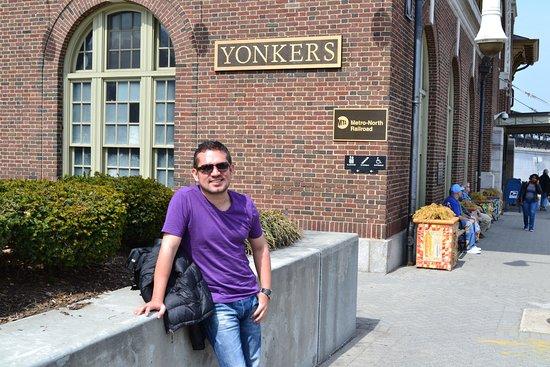 Llegando a Yonkers