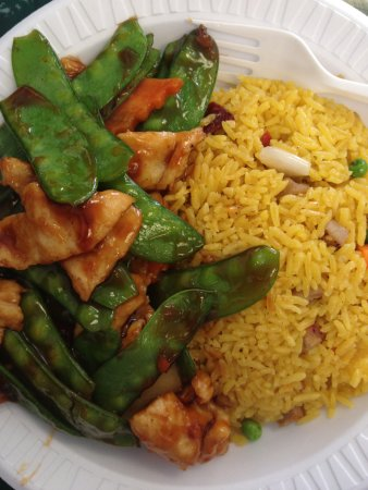 Clarion, Pensilvania: Chicken with Pea Pods