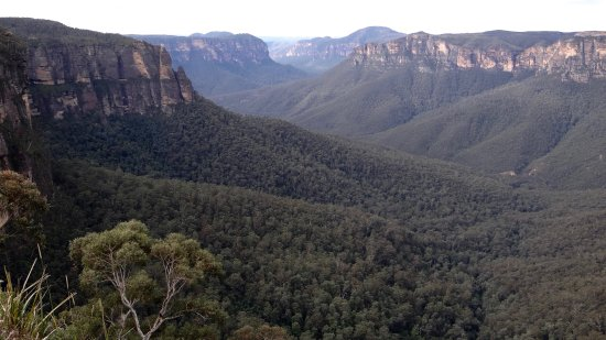 Sydney Great Escapes - Blue Mountains Day Tours: Beautiful view of the Blue Mountains